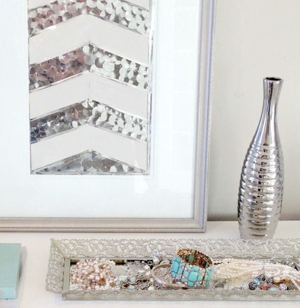 DIY Art Deco - Chevron Picture Frame